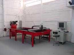 CNC plasma machining